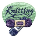 Knitting (Yarn) Fun Patch