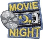 Movie Night Sew-On Fun Patch