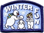 Winter Fun Snowman Fun Patch