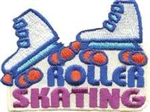 Roller Skating Sew-On Fun Patch