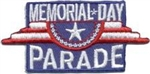 Memorial Day Parade Sew-On Fun Patch