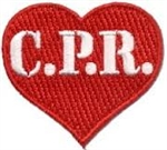 CPR Sew-On Fun Patch