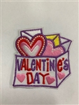 Valentines Day Sew-On Fun Patch
