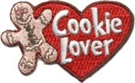 Cookie Lover Sew-On Fun Patch