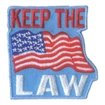 Keep The Law Sew-On Fun Patch