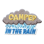 Camped in the Rain Fun Patch