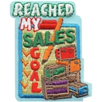 Reached my Sales Goal Fun Patch
