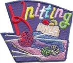 Knitting Sew-On Fun Patch