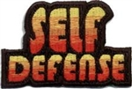 Self Defense Fun Patch