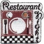 Restaurant Night Sew-On Fun Patch