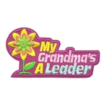 My Grandma's a Leader Fun Patch