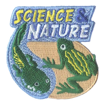 Science & Nature (frog) Fun Patch