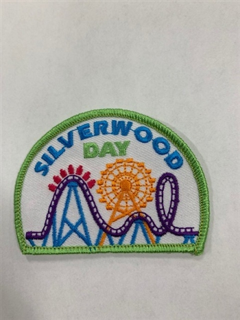 Silverwood Day (white) Fun Patch
