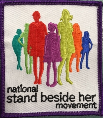 National Stand Beside Her Movement Patch