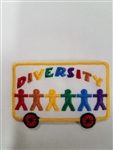 Diversity Sew-on Fun Patch