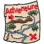 Adventure Sew-On Fun Patch