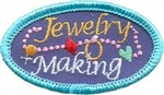 Jewelry Making Sew-On Fun Patch