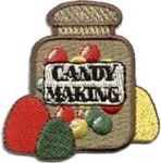 Candy Making Sew-On Fun Patch