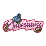 Investiture (pink) Butterfly Fun Patch