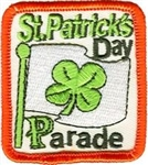 St Patricks Day Parade Sew-On Fun Patch