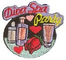 Diva Spa Party Sew-On Fun Patch