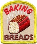 Baking Breads Sew-On Fun Patch