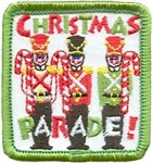 Christmas Parde with Toy Soldiers Fun Patch