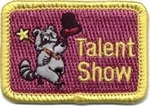 Talent Show Racoon Fun Patch