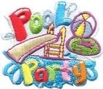Pool Party Fun Patch
