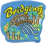 Bridging Sew-on Patch - Bridge over Water