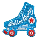 Roller Derby Fun Patch