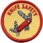 Knife Safety Fun Patch