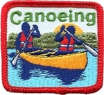 Canoeing (Red) Fun Patch