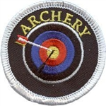 Archery Sew-on Fun Patch