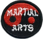 Martial Arts (symbol) Sew-On Fun Patch