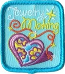 Jewelry Making Sew-On Fun Patch (Heart Charm)