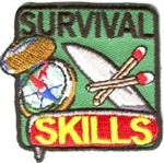 Survival Skills Sew-On Fun Patch