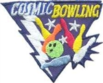 Cosmic Bowling Sew-on Fun Patch