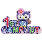 1st Campout Owl Fun Patch