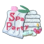 Spa Day Sew-On Fun Patch