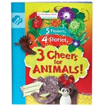 Daisy Journey Book-5 Flowers, 4 Stories, 3 Cheers For Animals!