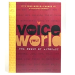 Ambassador Journey Book- Your Voice, Your World! The Power of Advocacy
