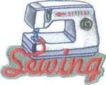 Sewing (sewing machine) Sew-On Fun Patch