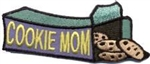 Cookie Mom (Box) Sew-On Fun Patch