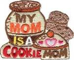 My Mom is a Cookie Mom Cookie Jar Patch