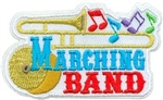 Marching Band Sew-On Fun Patch