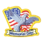 Memorial Day Fun Patch (dove)