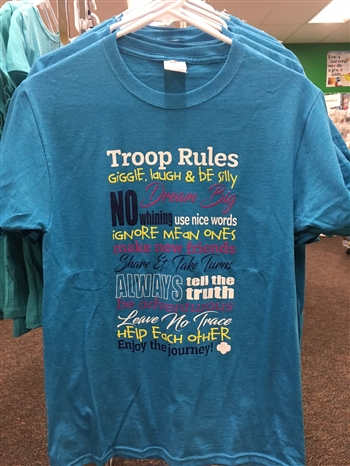 NEW! Troop Rules - Adult Sizes