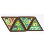 Brownie Quest Journey Award Patch Set