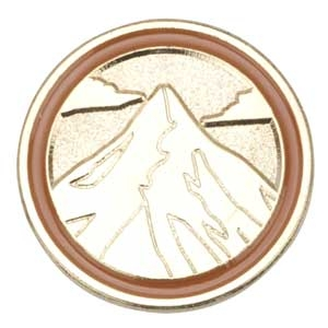 Brownie Journey Summit Award Pin